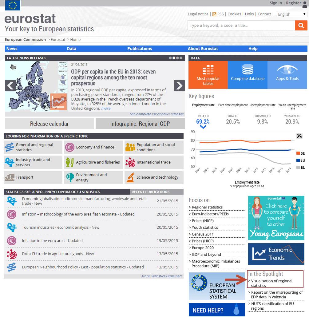 Eurostat announcement